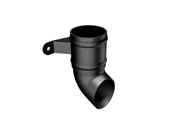 Aluminium Downpipe-Cast Eared Shoe