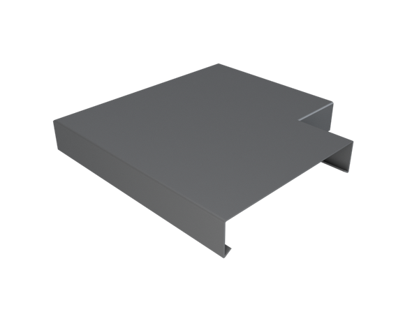 Pressed Aluminium Wall Coping Angle