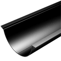 Product Thumbnail image - Beaded Half Round Extruded Aluminium Gutter