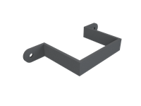 Cast Iron No46 Rectangular Downpipe Earbelt-Primed