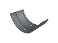 Cast Iron Plain Half Round Union-Primed